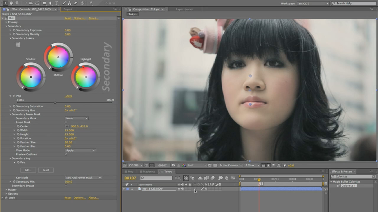 Red giant | color correcting food with magic bullet colorista ii.