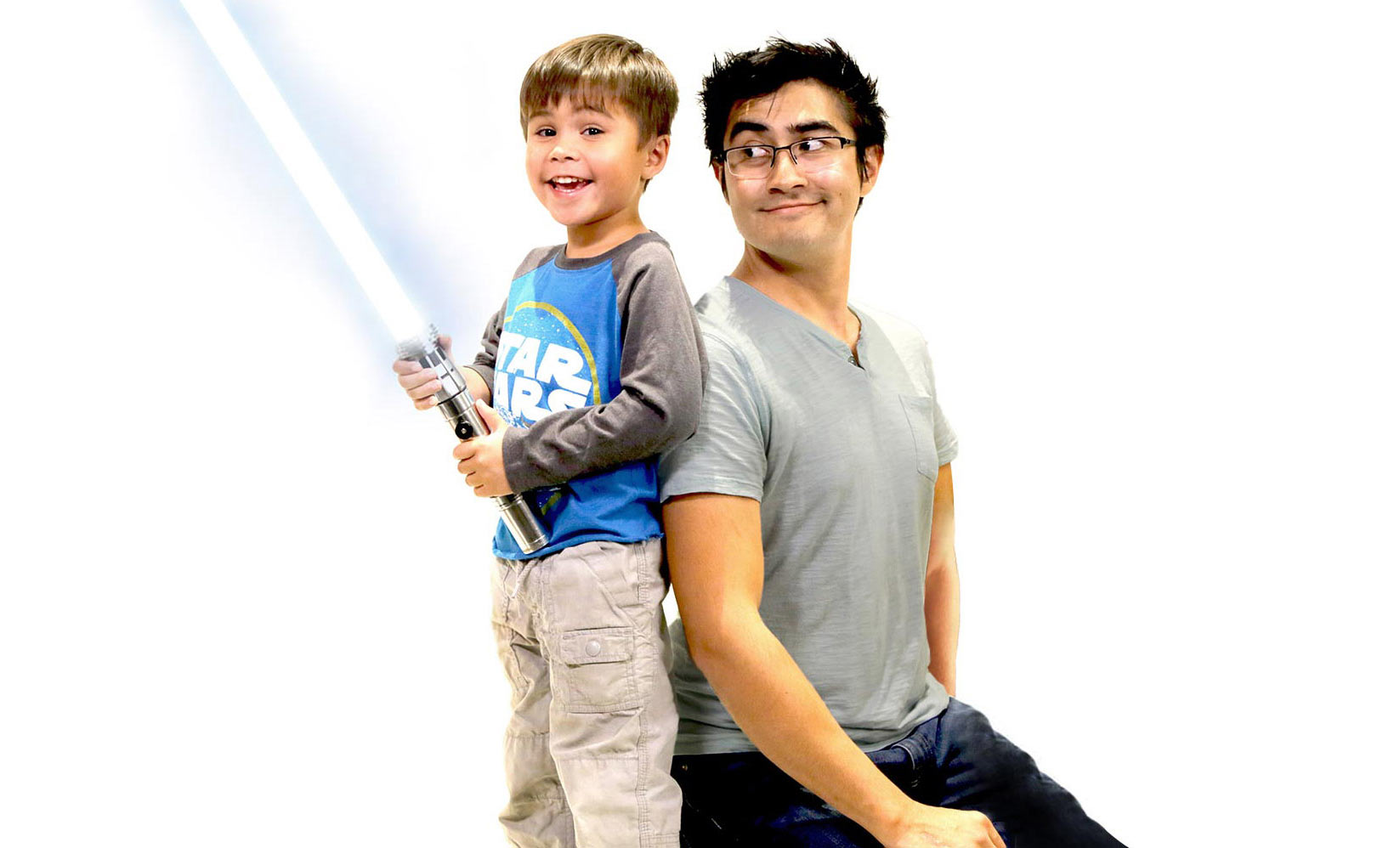 Action Movie Kid - Daniel Hashimoto and Son