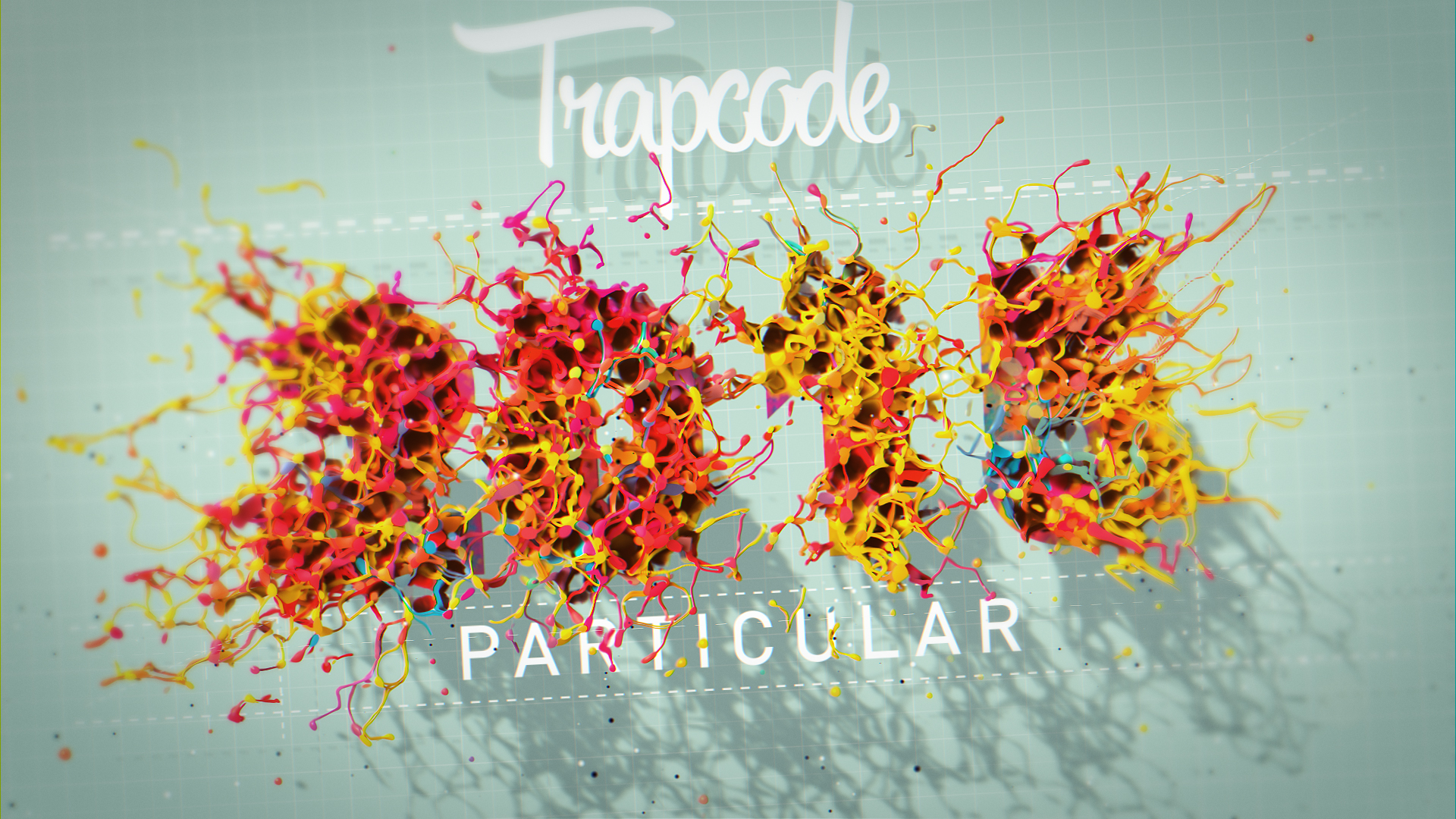Trapcode Paint Title