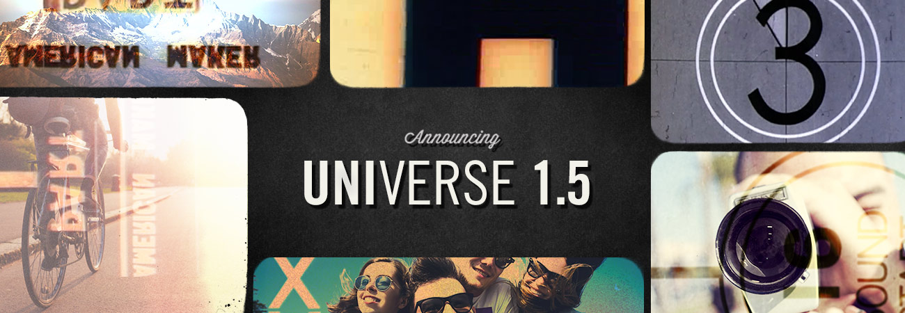 Universe 1.5 What's New