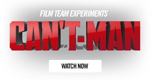 Film Team Experiments - Can't Man