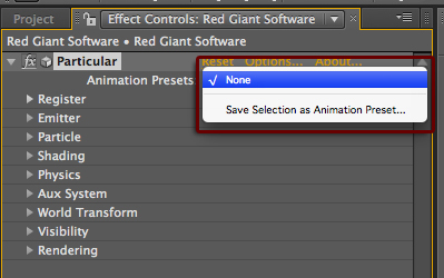 My Animation Presets in After Effects are not appearing – Red Giant FAQ