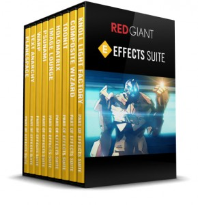 Red Giant - Effects Suite Box Art