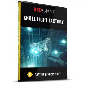 Red Giant - Knoll Light Factory Box Art