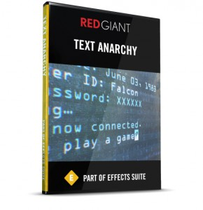 Red Giant - Text Anarchy Box Art