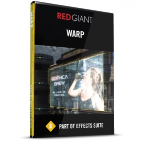Red Giant - Warp Box Art