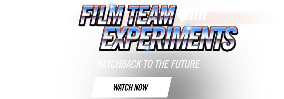 Film Team Experiments - Hatchback To The Future