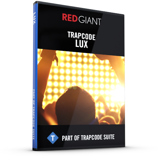 Red Giant - Trapcode Lux Box Art