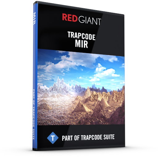 Red Giant - Trapcode MIR Box Art