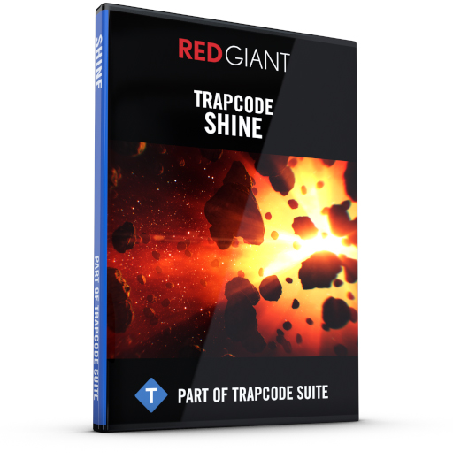 Red Giant - Trapcode Shine Box Art