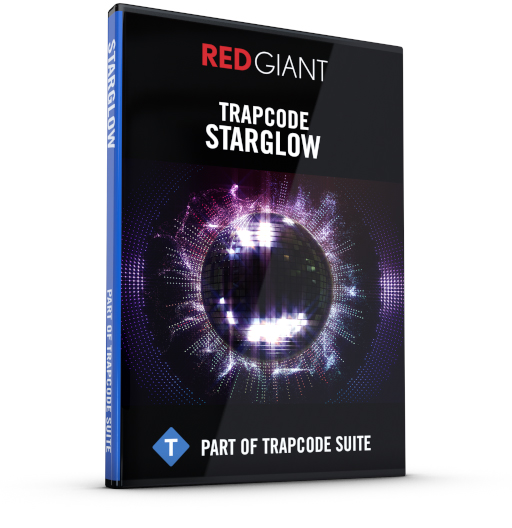 Red Giant - Trapcode Starglow Box Art