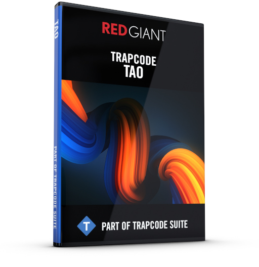 Red Giant - Trapcode Tao Box Art