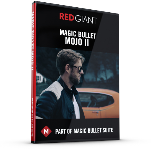 Red Giant - Magic Bullet Mojo II Box Art