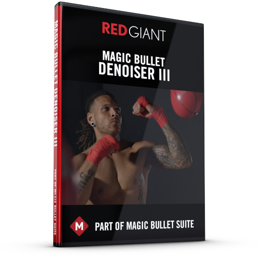 Red Giant - Magic Bullet Denoiser III Box Art