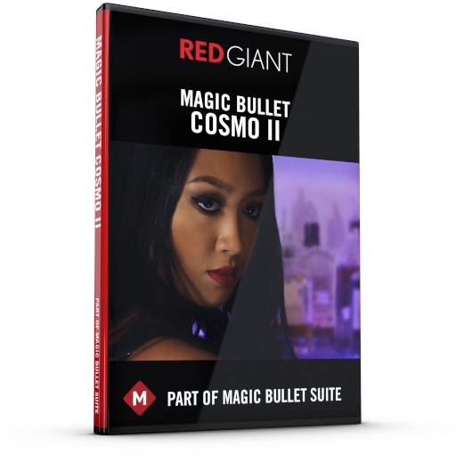 Red Giant - Magic Bullet Cosmo II Box Art