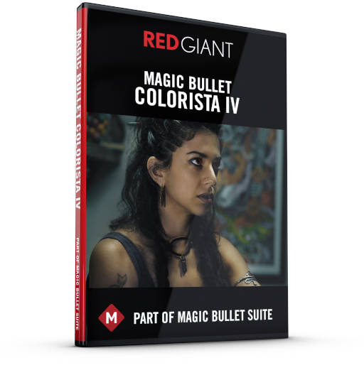 Red Giant - Magic Bullet Colorista IV Box Art
