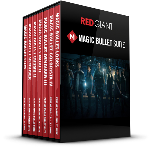 Red Giant - Magic Bullet Suite Box Art