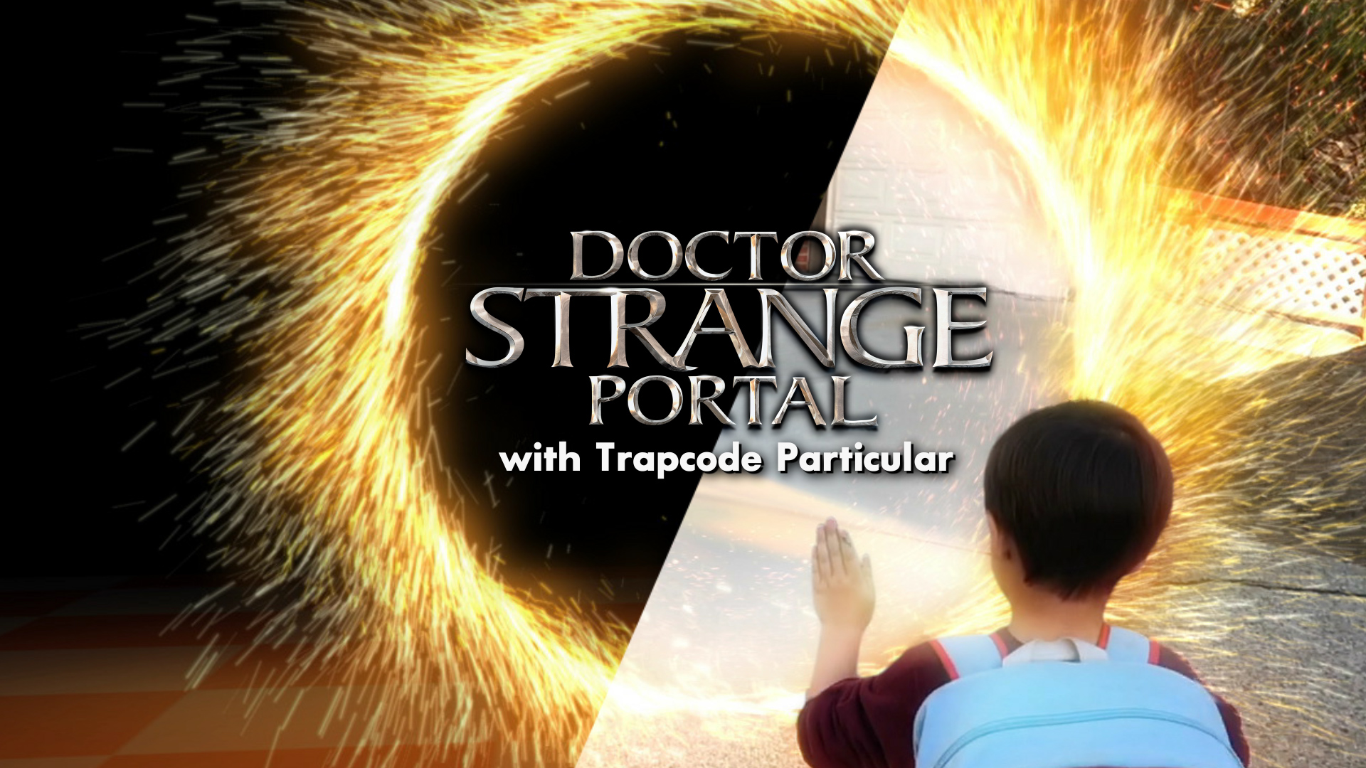 Dr. Strange Portal Effect with Trapcode Particular