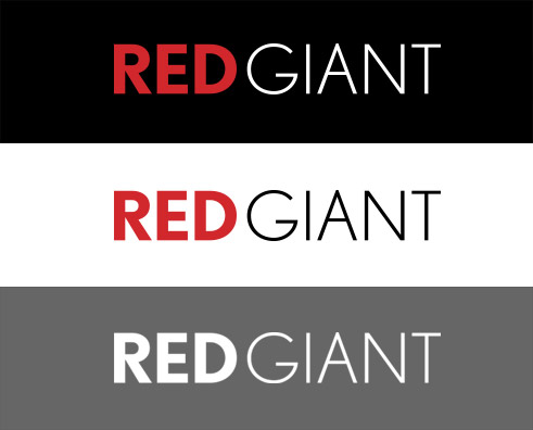 Red Giant Logo Formats