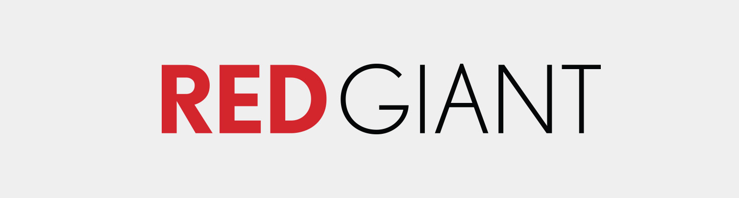 Red Giant Logo - Red and Black