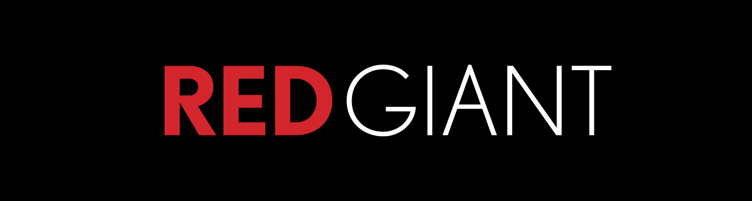 Red Giant Logo - Red and White