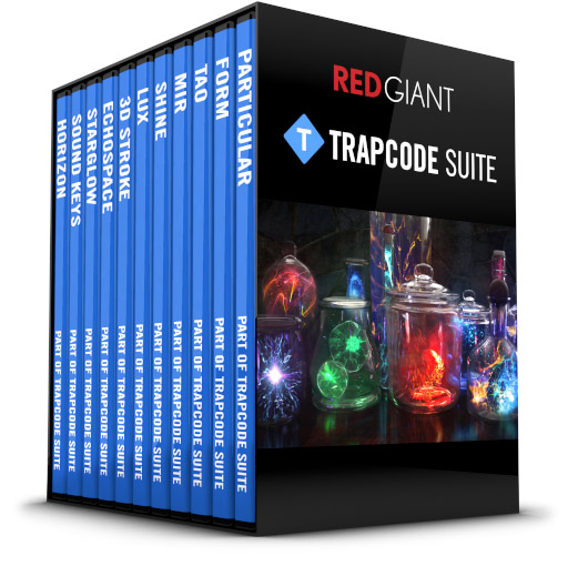 Red Giant - Trapcode Suite Box Art