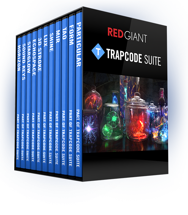 Red Giant Trapcode Suite 14.1.2 破解版 – 红巨星粒子套装#AE插件
