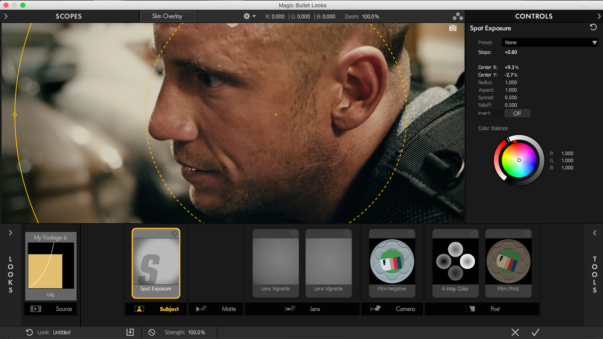 Powerful looks and color correction for filmmakers