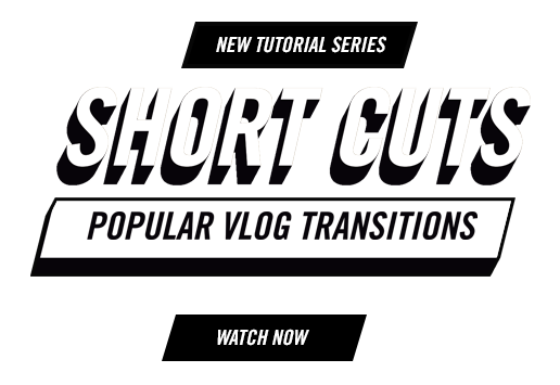 Short Cuts - Tutorial Series from Premiere Gal - Vlog Transitions