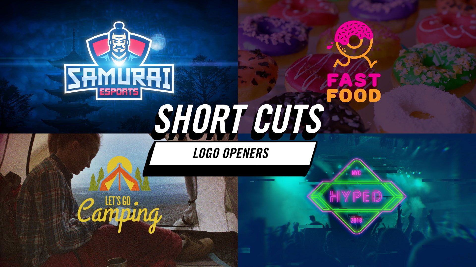 Short Cuts - Logo Openers