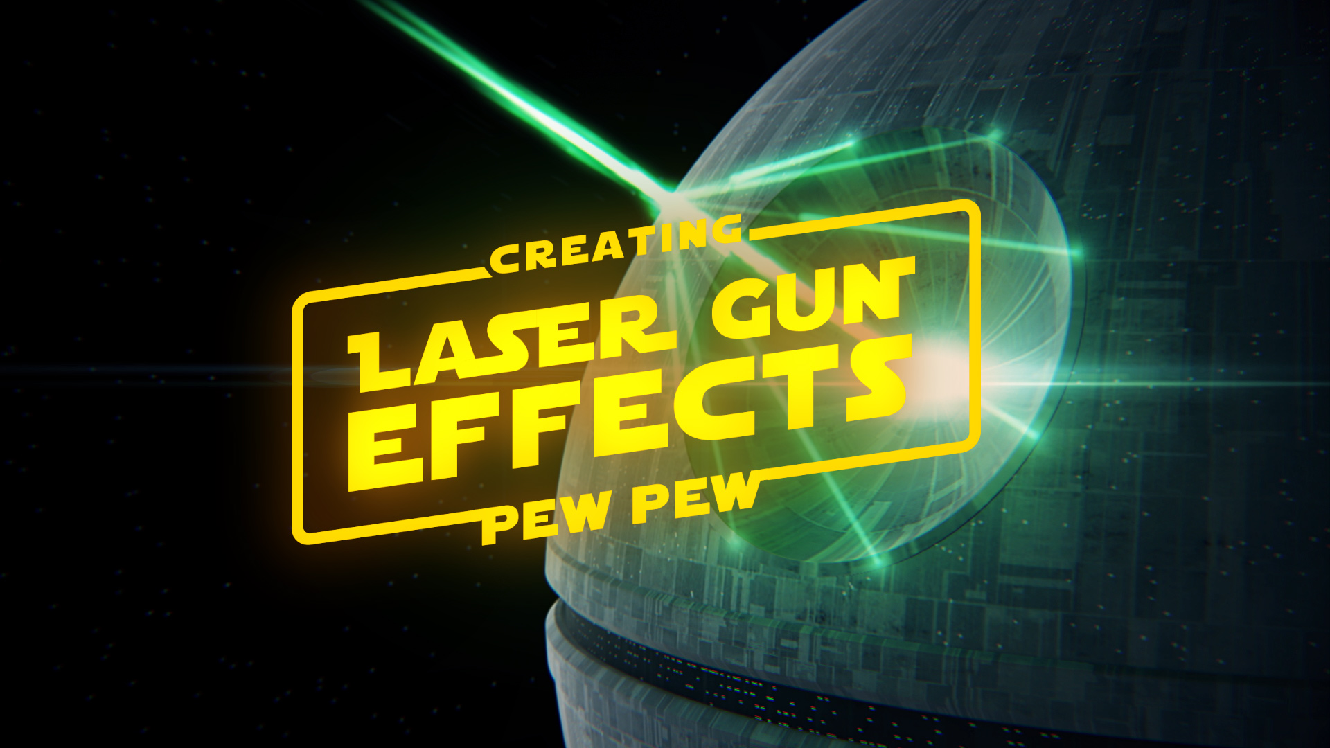 Create Laser Gun Effects with Trapcode Particular