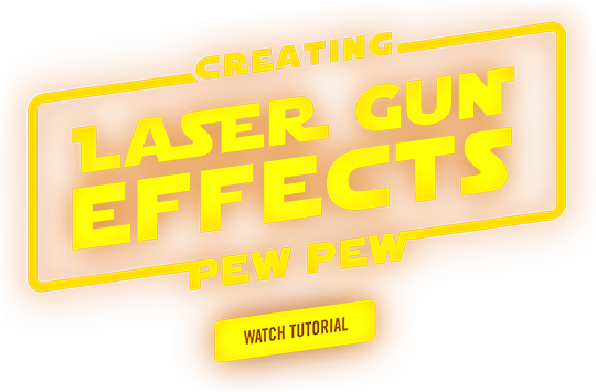 Creating Laser Gun Effects with Aharon Rabinowitz
