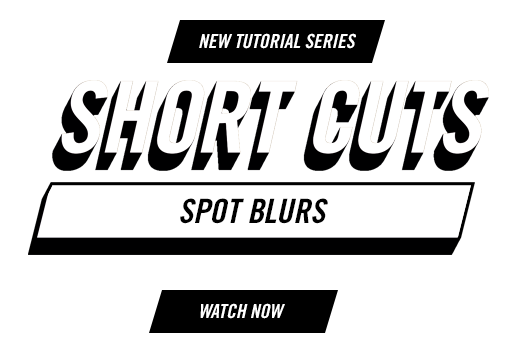 Short Cuts - Tutorial Series from Premiere Gal - Spot Blurs