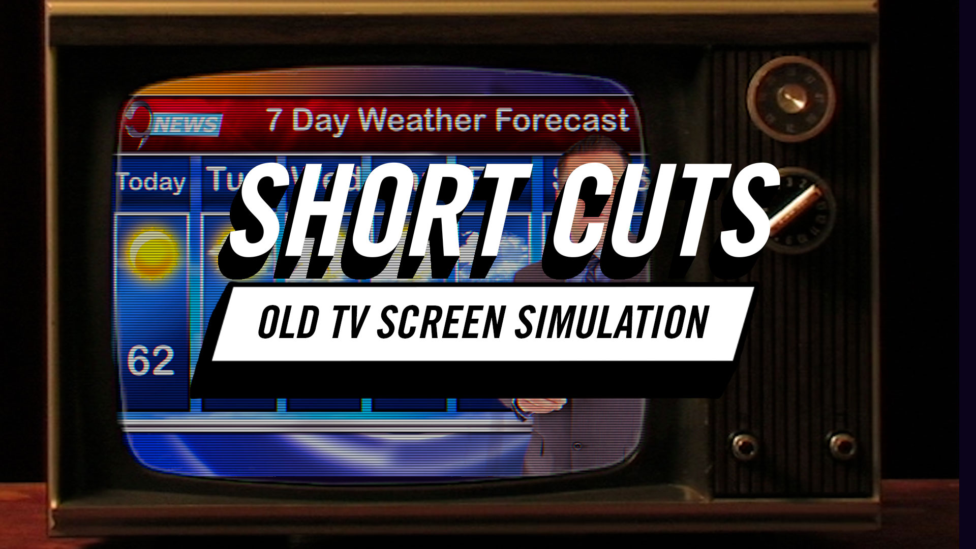Short Cuts | How to Simulate Old TV Screens in Premiere Pro CC