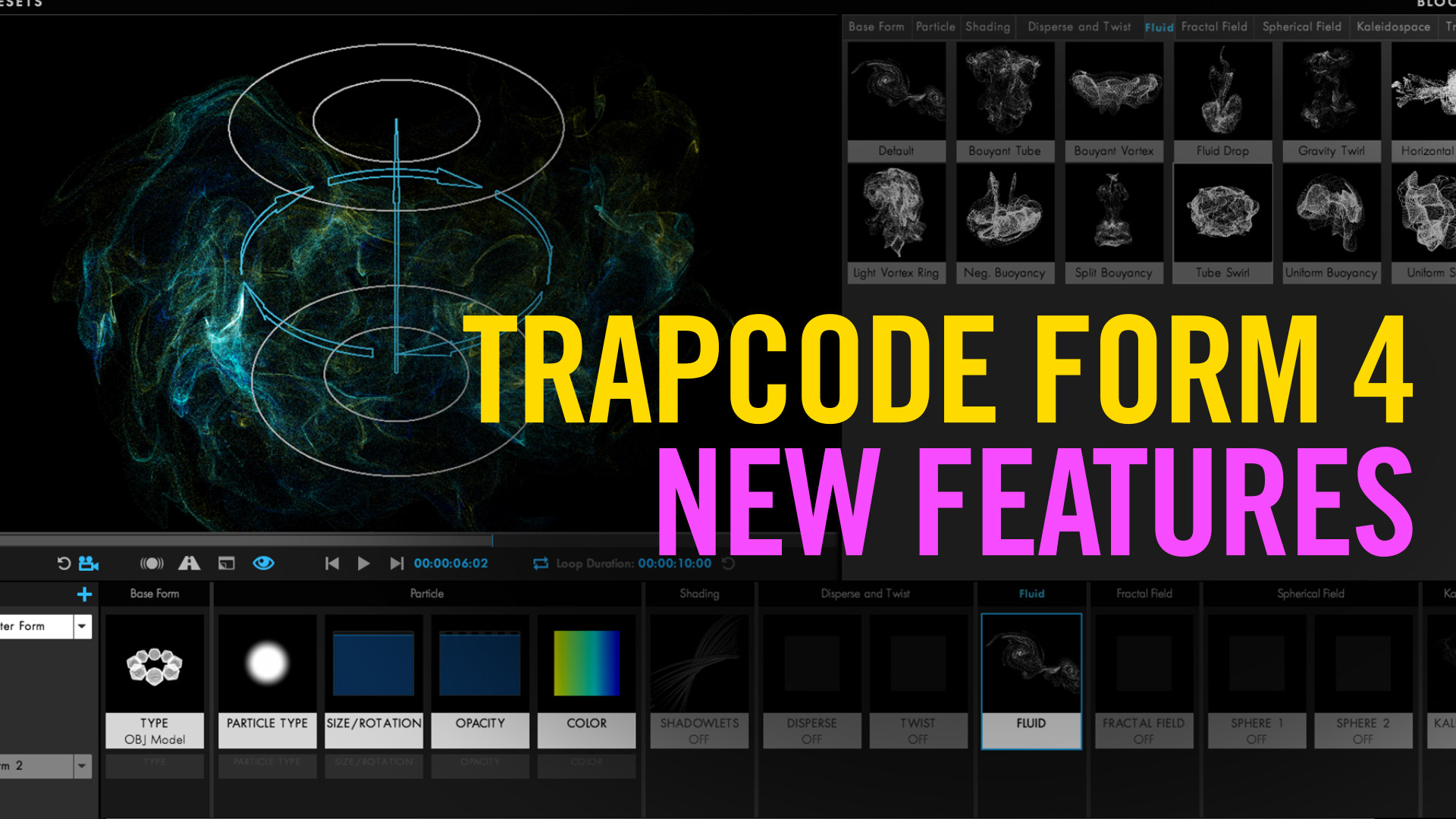 Trapcode Form 4 - New Features