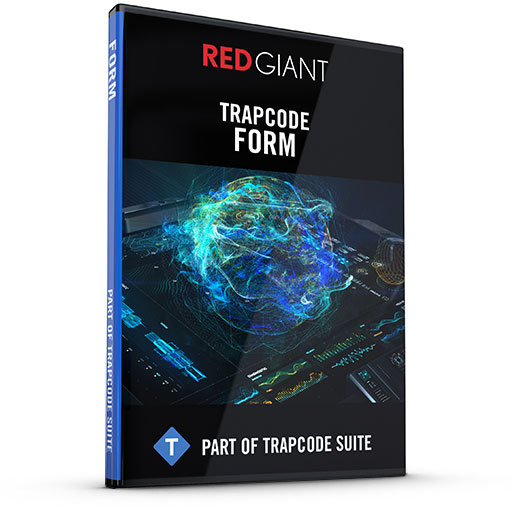 Red Giant - Trapcode Form Box Art