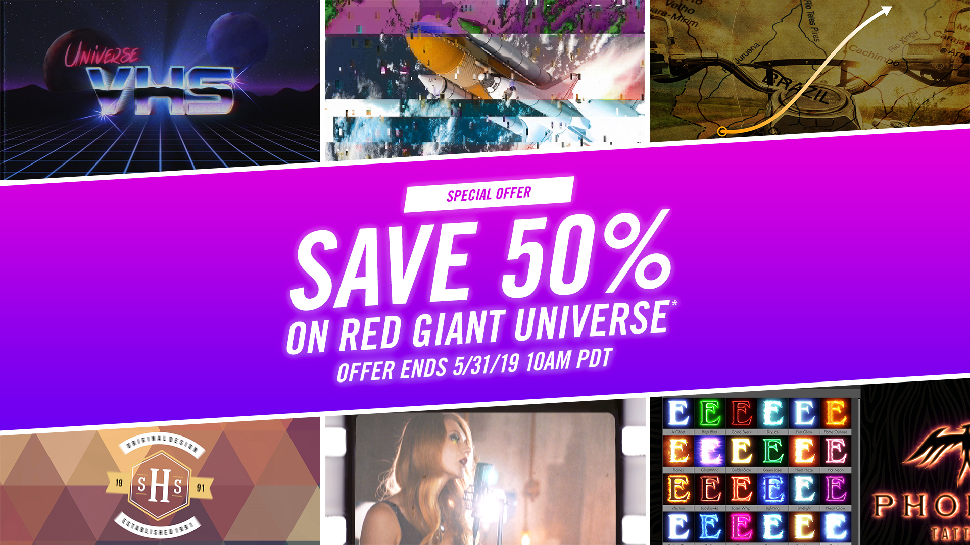 Red Giant   72 HOUR FLASH SALE   50% off Universe!