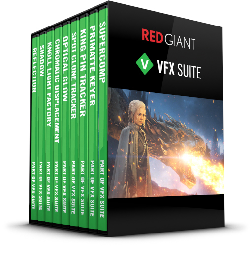 Red Giant - VFX Suite Box Art