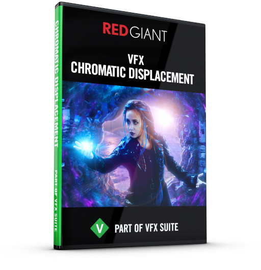 Red Giant - Chromatic Displacement Box Art