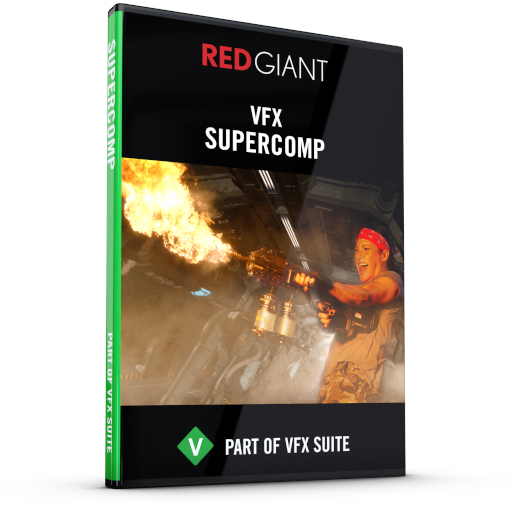 Red Giant - Supercomp Box Art