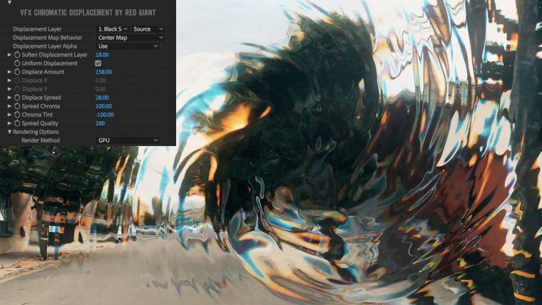 Chromatic Displacement has been designed to include lots of features to make it easy to displace chroma in your footage and motion graphics.