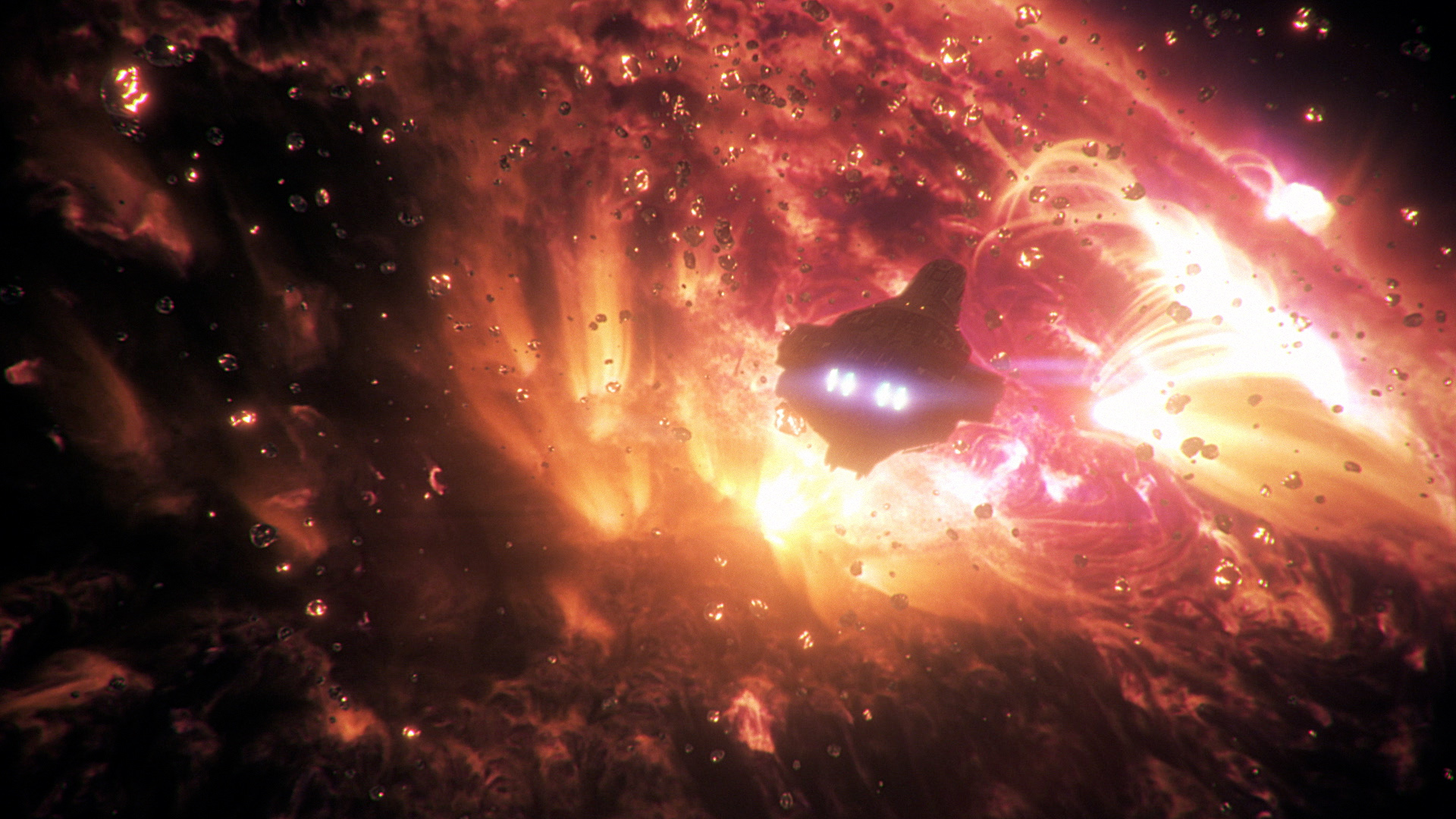 VFX Supercomp Solar Flares