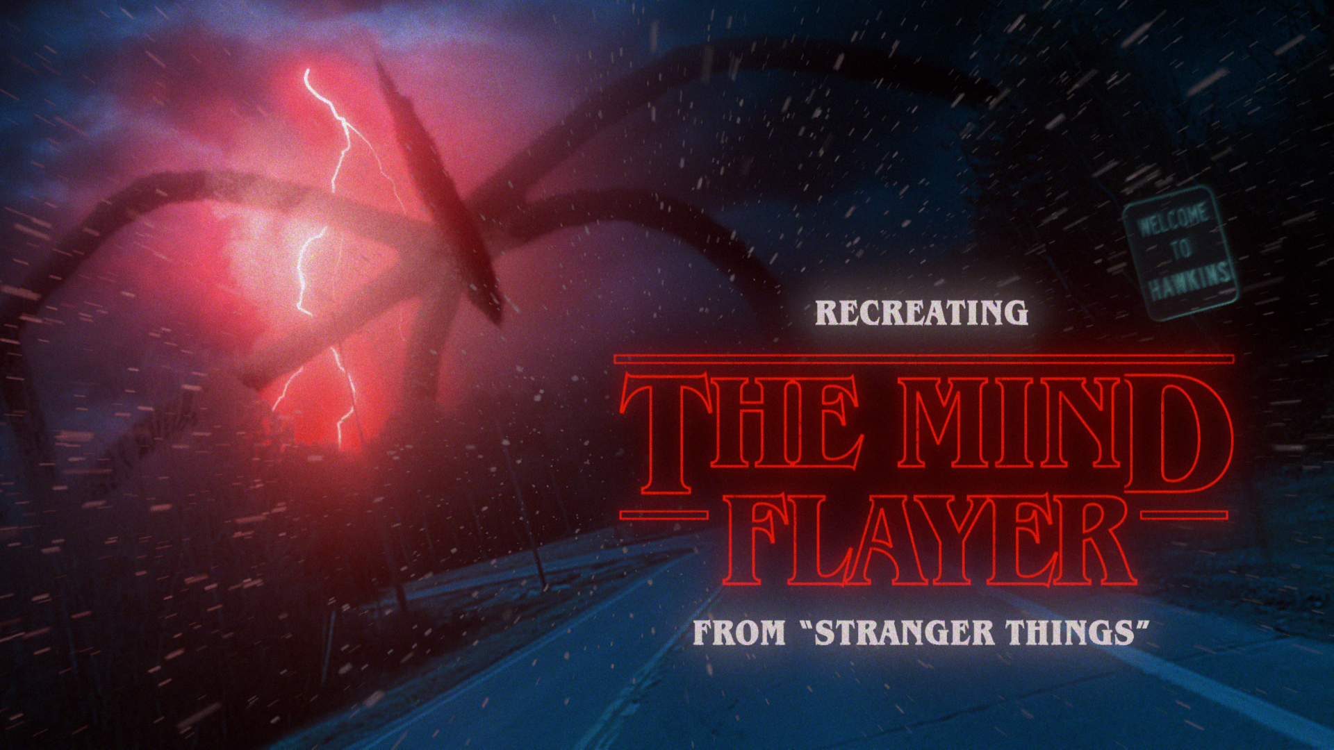 Stranger Things - Mind Flayer