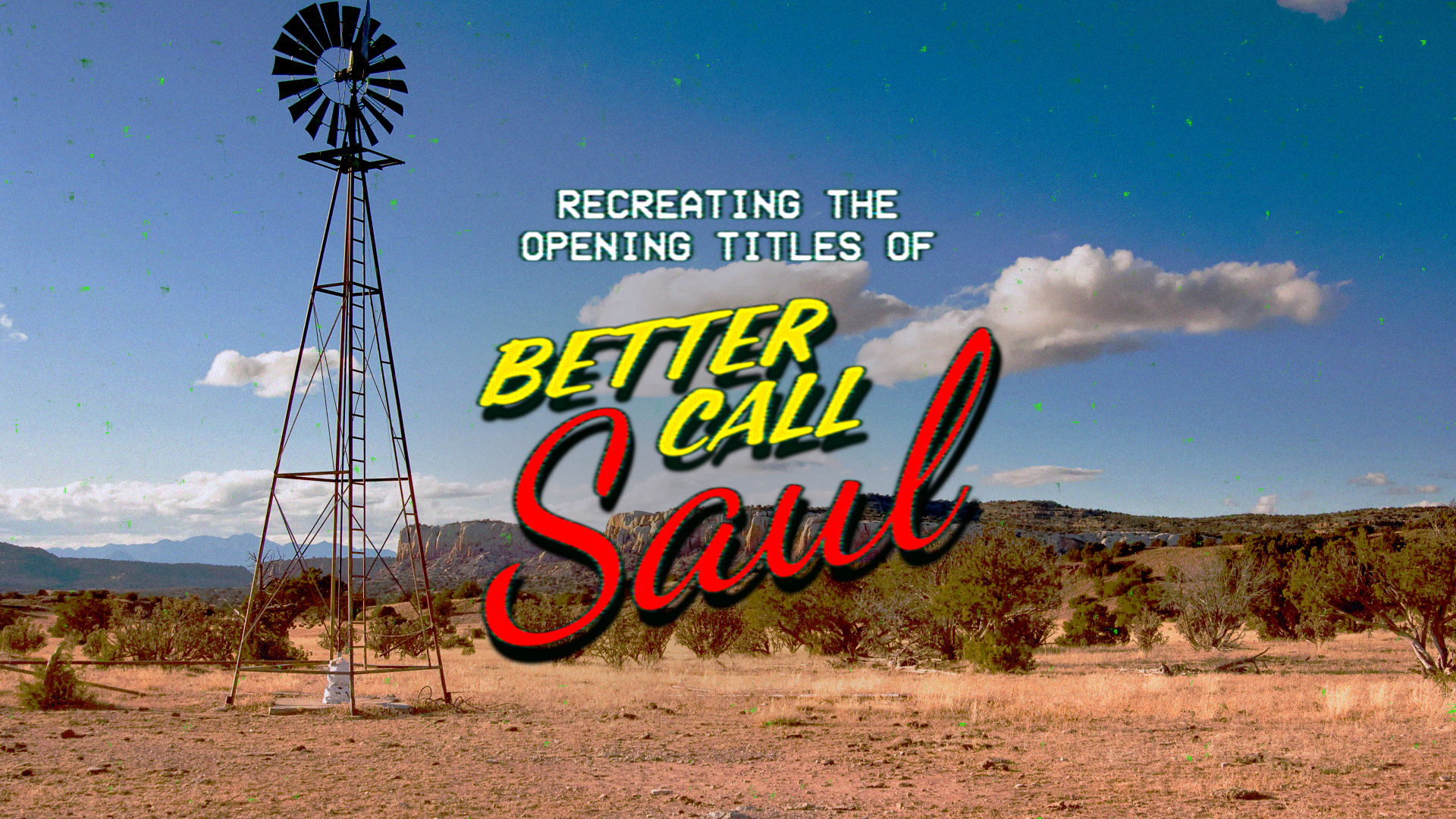 Red Giant New Tutorial Better Call Saul Title Sequence