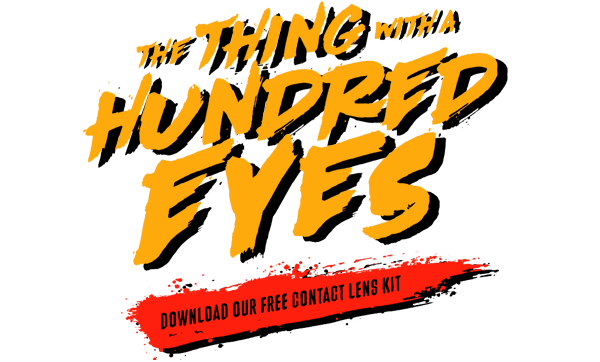 The Thing With A Hundred Eyes - Halloween Contact Lens Kit