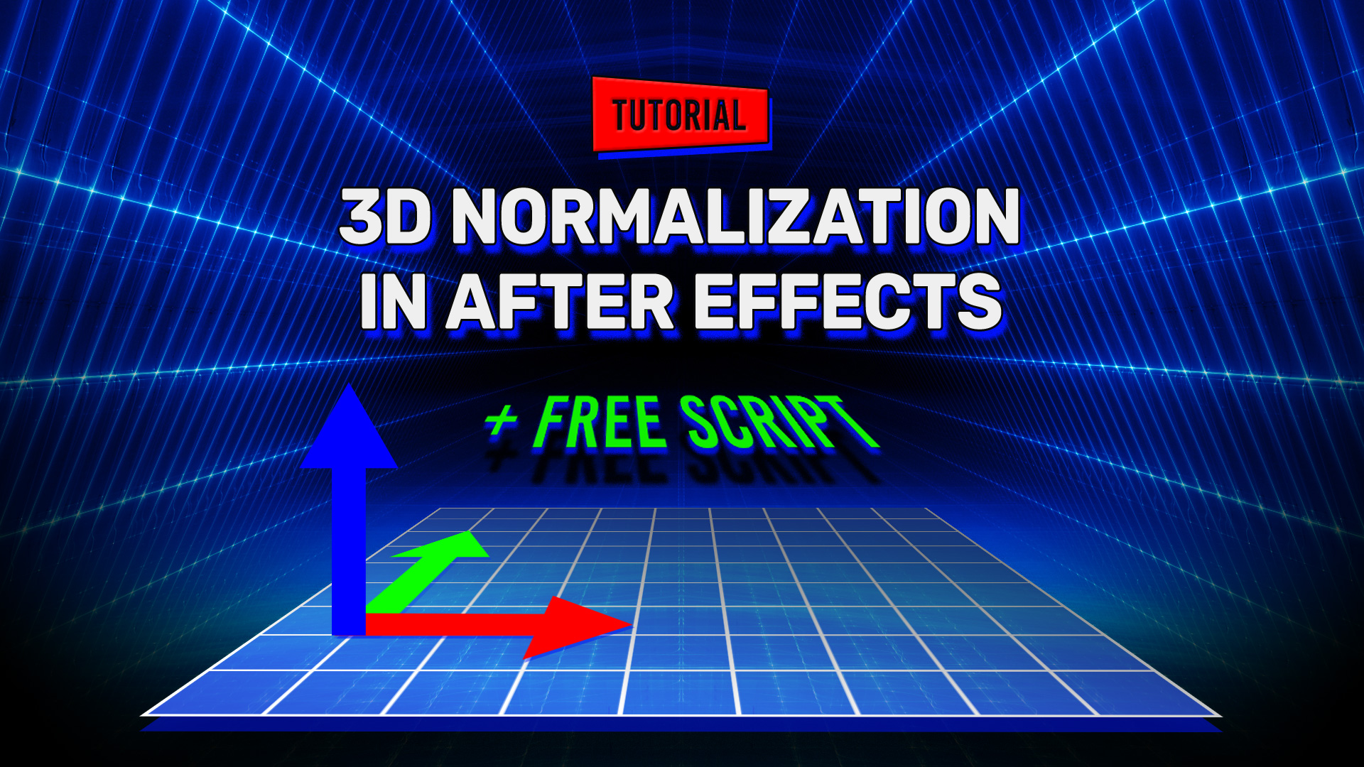 3D Normalization in After Effects + Free Script!