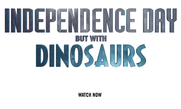 Independence Day but with Dinosaurs - A tutorial by Seth Worley