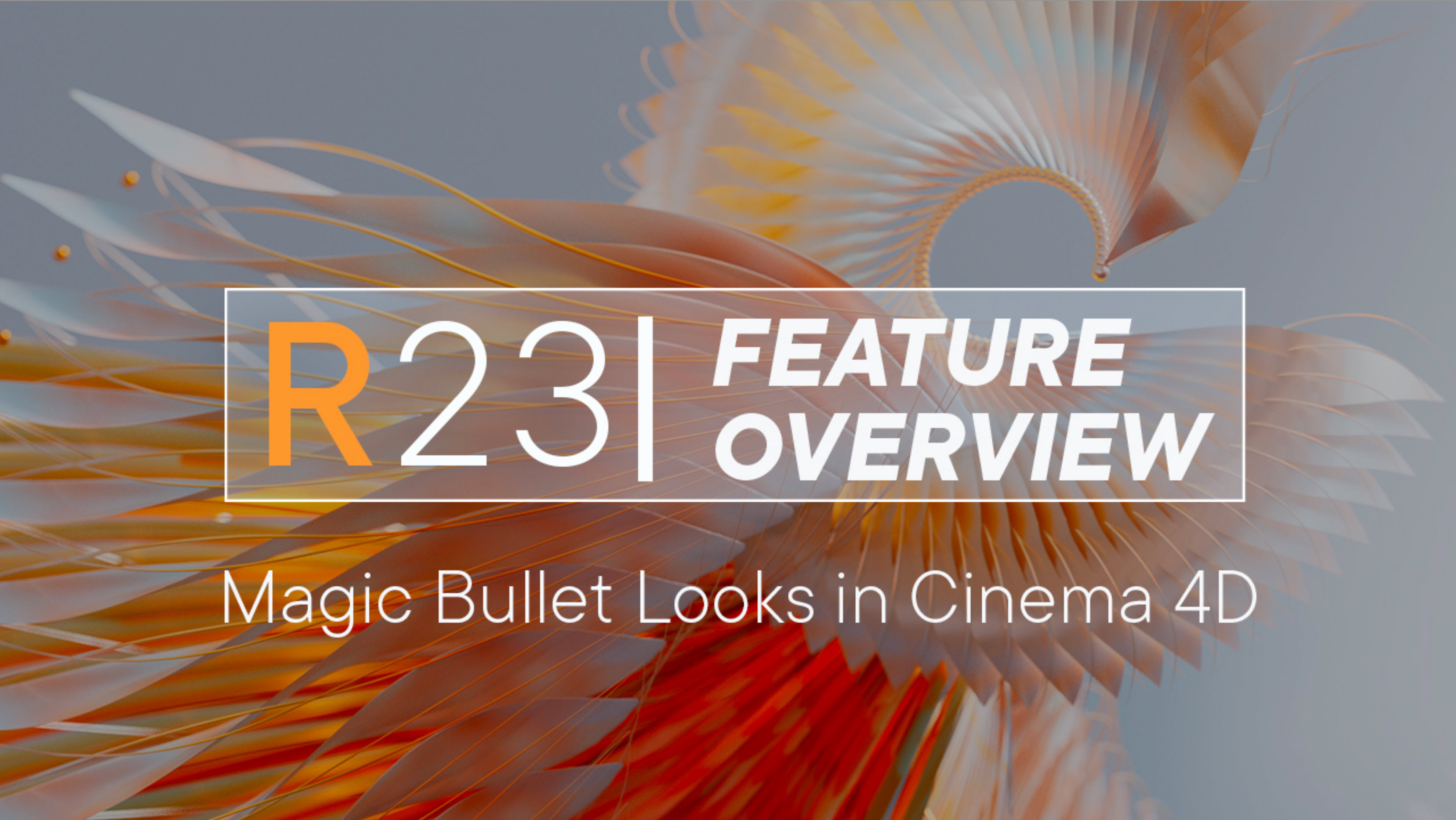 Magic Bullet Looks now in Cinema 4D!