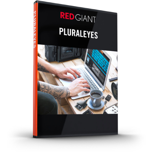 Red Giant - PluralEyes Box Art