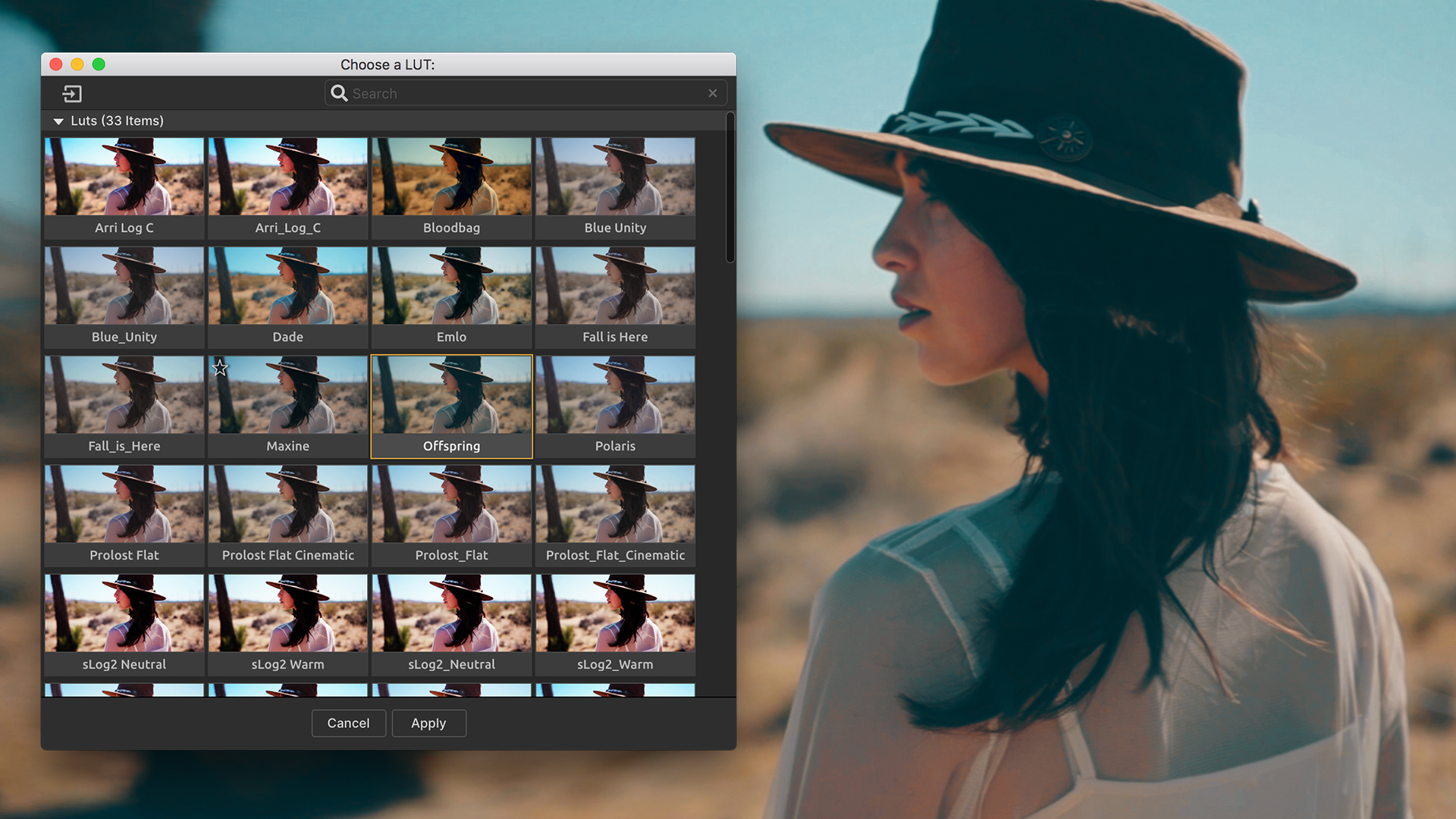 Magic Bullet Colorista - LUTs